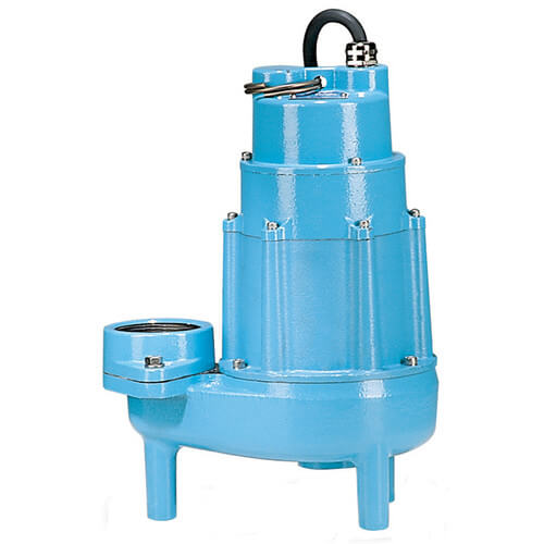20E-CIM 2 HP, 135 GPM, 230V - Manual Submersible High Head Effluent Pump, 30' Power Cord Product Image