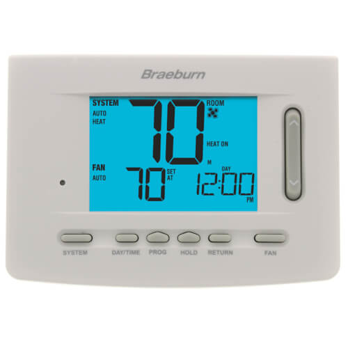 7 Day Programmable Thermostat (3 Heat/2 Cool) - Premier Series Product Image