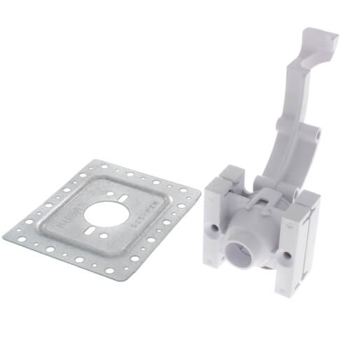 Face Plate with PEX Bend Support Product Image