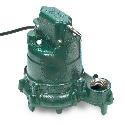 Model N53 Mighty-Mate Non-Automatic Cast Iron Effluent Pump - 115 V, 0.3 HP Product Image