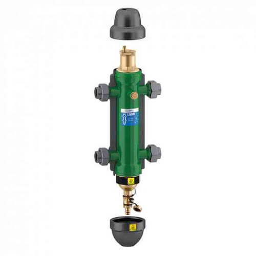 "SEP4 1-1/4"" NPT 4-in-1 Air, Dirt, Hydro & Magnet Hydraulic Separator Product Image"