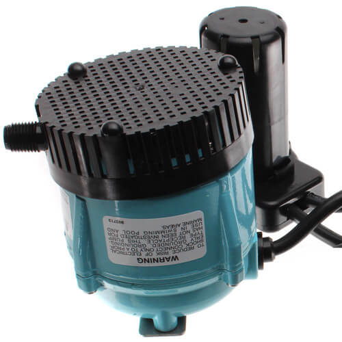 """1-ABS, 1/4"""" Discharge Shallow Pan Condensate Removal Pump (115V) Product Image"""