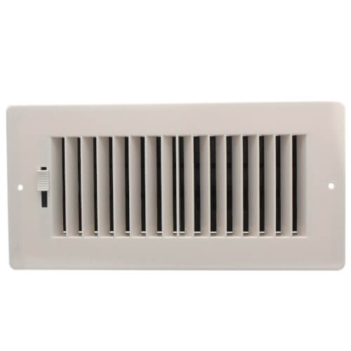 "10"" x 4"" (Wall Opening Size) Plastic 2-Way Sidewall Register (RZ682 Series) Product Image"