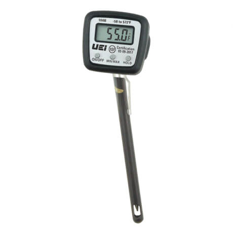 550B, Digital NSF Pocket Thermometer with Boot & Magnet Product Image