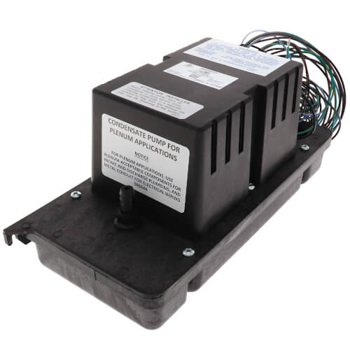 VCC-20-P, Low Profile Plenum Rated Condensate Pump (115V) Product Image