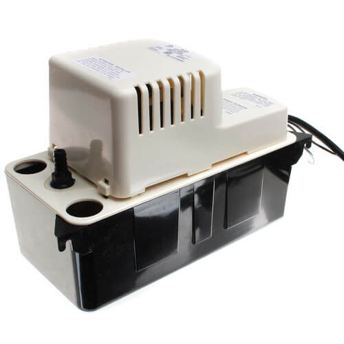 VCMA-20ULS, 80 GPH, 230 V In-Pan Condensate Removal Pump w/ Safety Switch Product Image