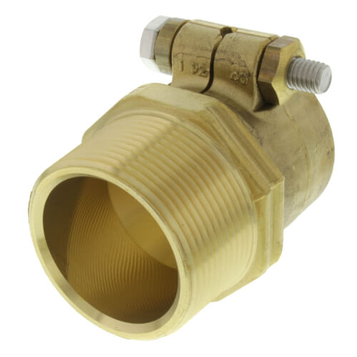 "WIPEX Fitting, 1-1/2"" PEX x 1-1/2"" NPT Product Image"