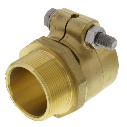 "WIPEX Fitting, 2-1/2""PEX x 2"" NPT Product Image"