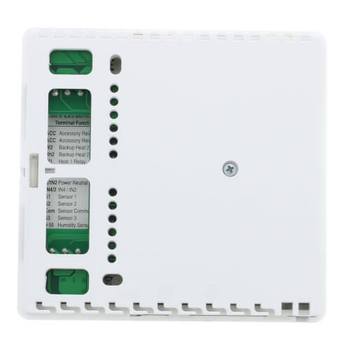 tekmarNet 4 Thermostat - Two Stage Heat, Two Stage Cool, Two Fan Product Image
