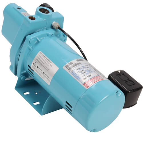 JP-100-C Shallow Well Jet Pump w/ Square D Pressure Switch 1 HP Product Image