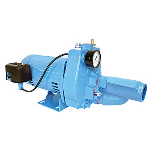 JPC-075-C, Cast Iron Convertible Deep Well Jet Pump, 3/4 HP (115/230V) Product Image