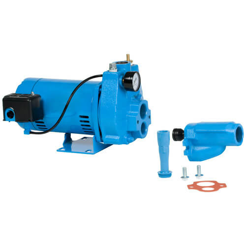 JPC-100-C Convertible Jet Pump w/ Square D Pressure Switch 1 HP Product Image