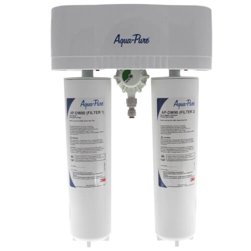 Aqua-Pure AP-DWS1000 Less Faucet, Dual Stage Drinking Water Filtration System Product Image