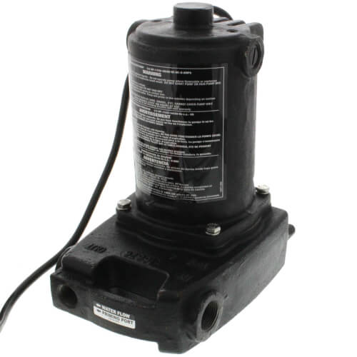 "PC4 1/2 HP Cast Iron Transfer Pump w/ 3/4"" Garden Hose Adapters Product Image"