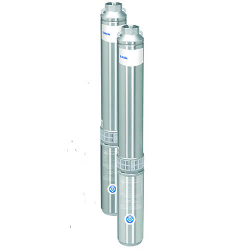 W8G10S15-32S 1 HP, 8 GPM Submersible Deep Well Pump (15 Stages) Product Image