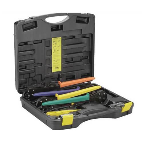 "PEX Press Complete Plumbing Tool Set (3/8"" - 1"" Hand Tools) Product Image"