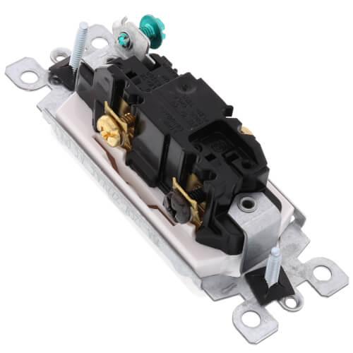 3-Way Decora Rocker Switch - White (15 Amp, 120/277V) Product Image