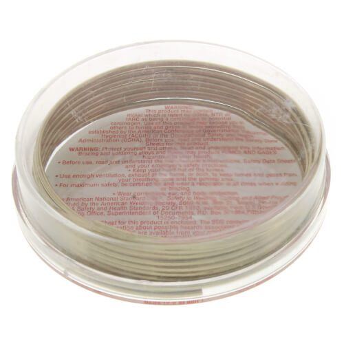 Safety-Silv 56 High-Silver Brazing Alloy Wire (3 per Pack) Product Image