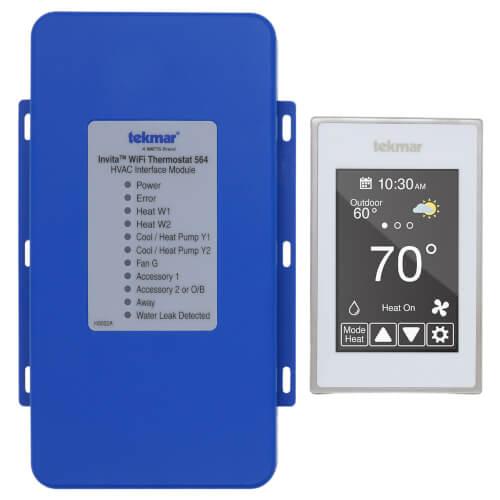 Invita TM WiFi Thermostat (White) Product Image