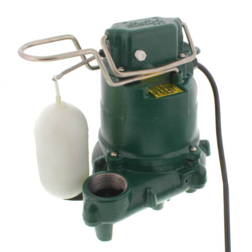 Model M57 Mighty-Mate Automatic Cast Iron Effluent Pump - 115 V, 0.3 HP Product Image