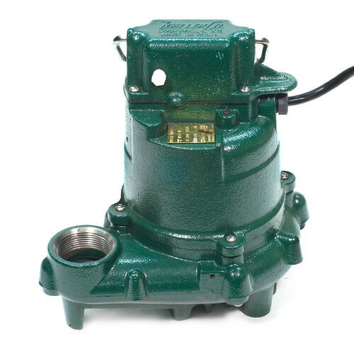 Model N57 Mighty-Mate Non-Automatic Cast Iron Effluent Pump - 115 V, 0.3 HP Product Image