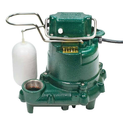 Model M57 Mighty-Mate Extra Duty Automatic Cast Iron Effluent Pump - 115 V, 0.3 HP Product Image