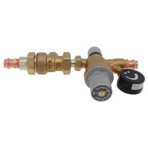 "1/2"" 573 Backflow Preventer and AutoFill Combination w/ Pressure Gauge (Press x Press) Product Image"