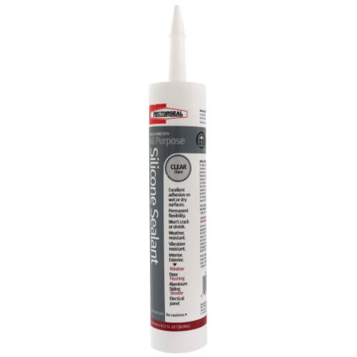 10.3 oz. General-Purpose Silicone Sealant (Clear) Product Image