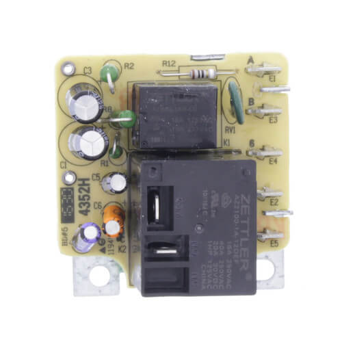 Blower Time Delay Relay - Direct Replacement of Trane RLY 2807 Product Image