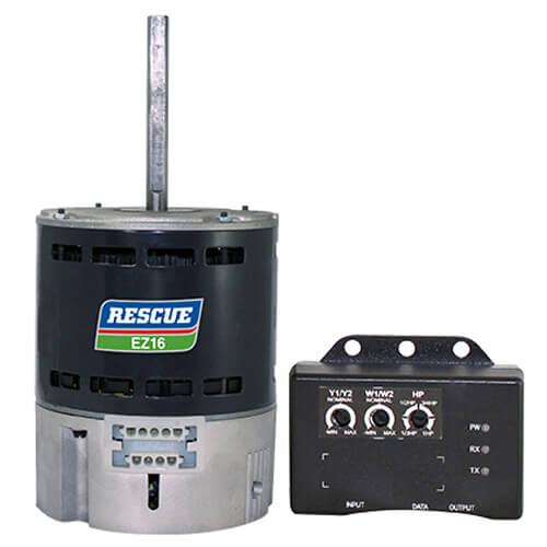 RESCUE EZ16 OAO ECM Direct Drive Blower Motor (115/208-230V, 3/4-1/3 HP, 1075 RPM) Product Image