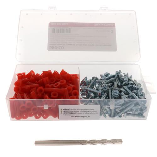 Satin Chrome Anchor Kit (100 Pieces) Product Image