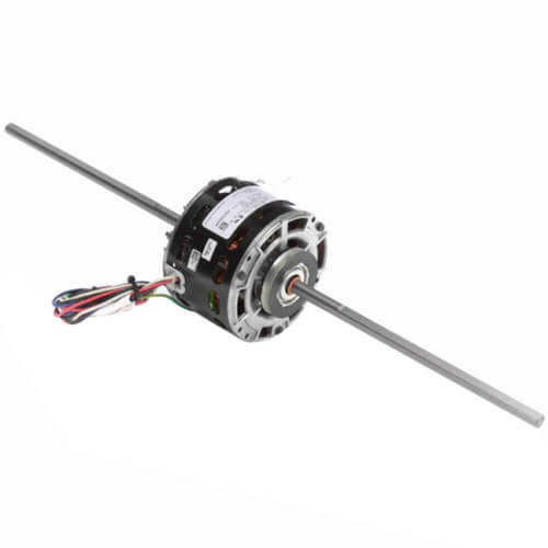 "5"" 3-Speed Double Shaft Fan/Blower Motor Less Base (115V, 1050 RPM, 1/10, 1/20, 1/30 HP) Product Image"