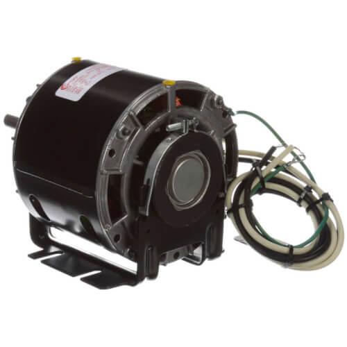 """5"""" 1-Speed Single Shaft Open Fan/Blower Motor (208-230V, 1550 RPM, 1/6 HP) Product Image"""