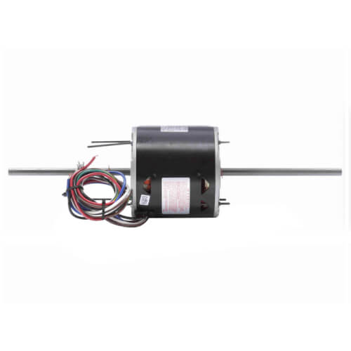 """5-5/8"""" Double Shaft Fan/Blower Motor (115V, 1075 RPM, 1/2 HP) Product Image"""