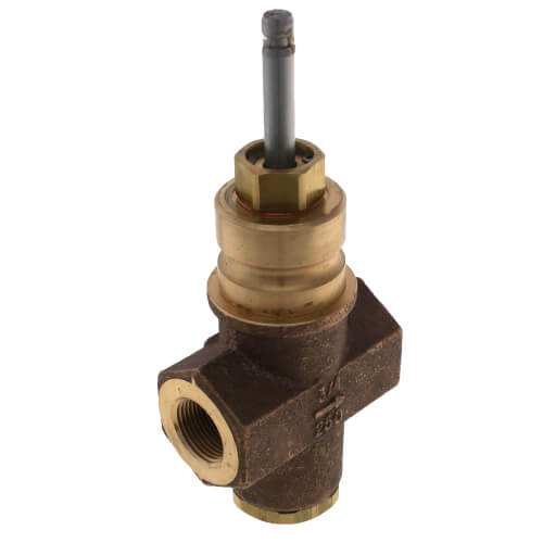 """3/4"""" 2-Way N/C Stainless Steel Linear Valve Body, Female x Female (6.3 Cv) Product Image"""