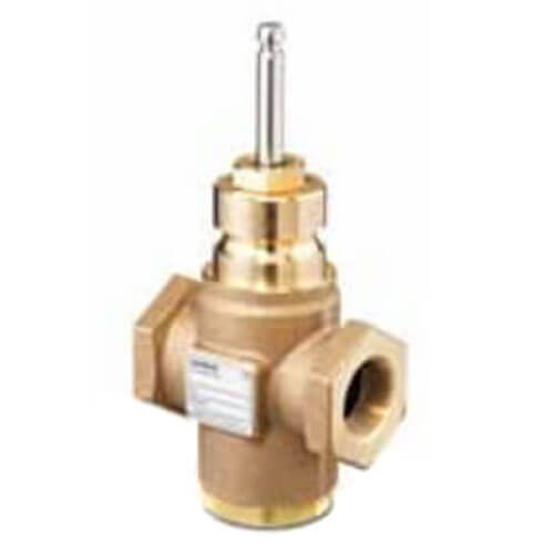 """1-1/4"""" 2-Way N/C Stainless Steel Linear Valve Body, Female x Female (16 Cv) Product Image"""