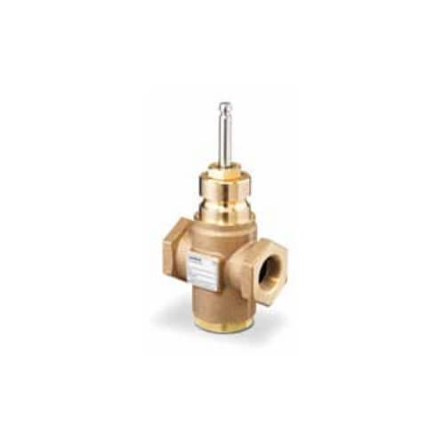 """2"""" 2-Way N/O Stainless Steel Equal Percentage Valve Body, Female x Female (40 Cv) Product Image"""
