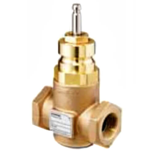"""2"""" 2-Way N/C Stainless Steel Equal Percentage Valve Body, Female x Female (40 Cv) Product Image"""