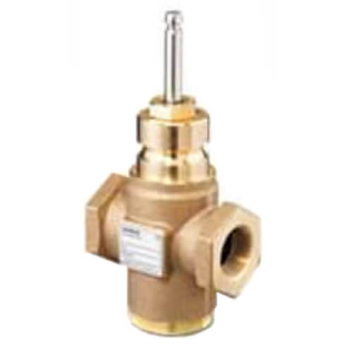"""1-1/2"""" 3-Way N/C Stainless Steel Pneumatic Valve Body, Female x Female (25 Cv) Product Image"""
