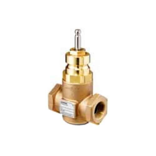 "1-1/4"" 2-Way N/O Brass Equal Percentage Valve Body, Female x Female (16 Cv) Product Image"