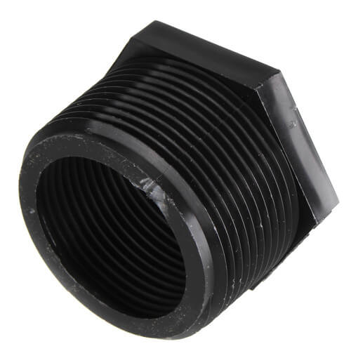 "AD-6 ADP - 1-1/2""MNPT x 1-1/4"" FNPT Discharge Adapter PVC Garden Hose Adapter for Sump Pump, Pool Pump, and Utility Pump Product Image"