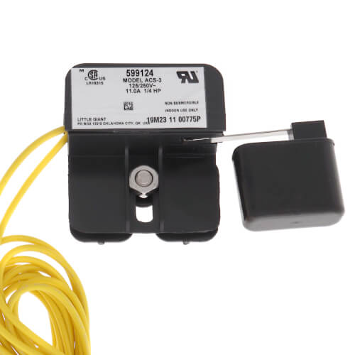 ACS-3 Auxiliary In-Line Condensate Overflow Safety Switch Product Image