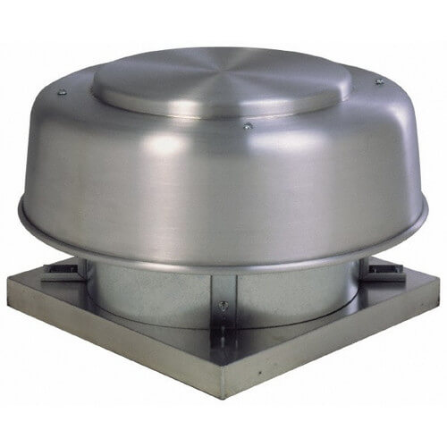 "5ADE Series 16"" Direct Drive Axial Exhaust Roof Fan Product Image"