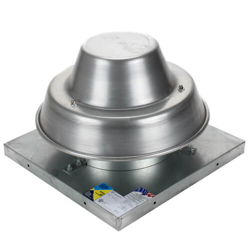 """5DDD Series 8"""" Roof Mount Direct Drive Downblast Fan Product Image"""