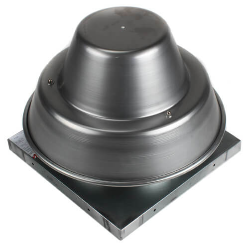 """5DDD Series 10"""" Roof Mount Direct Drive Downblast Fan Product Image"""