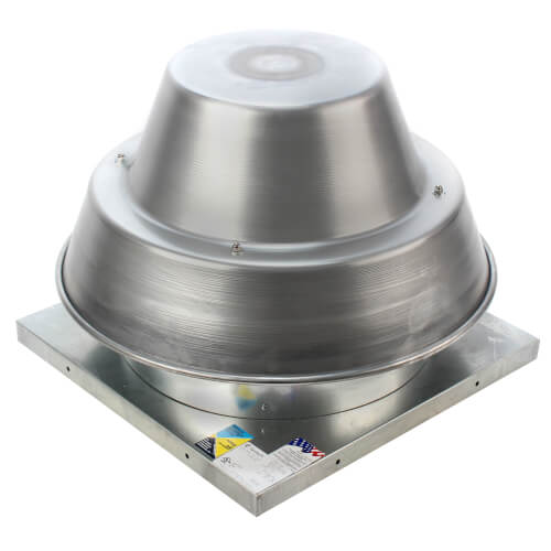 """5DDD Series 13"""" Roof Mount Direct Drive Downblast Fan Product Image"""