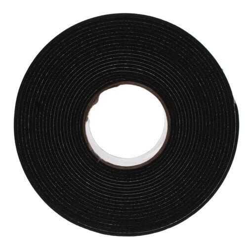 "Black DiversiTech 6-9718 Foam Insulation Tape 1//8/"" x 2/"" x 30/' Roll"