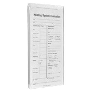 Heating System Evaluation Forms (50 Sheets per Pad) Product Image