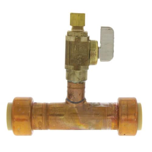 Add-A-Line 3/4 Push Fit x 1/4 OD Compression (No Lead Copper)