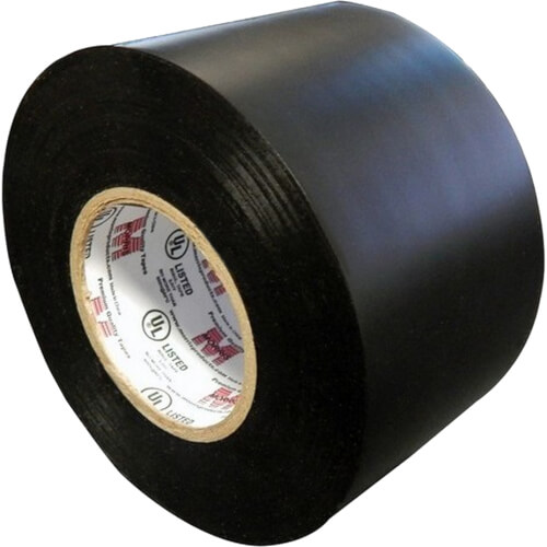 """2"""" X 66' 8.5 Mil Professional Grade Vinyl Electrical Tape Product Image"""